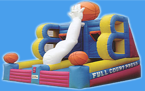 Games and Inflatables Fun Rental Inflatable rides