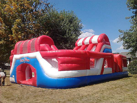 Obstacle Courses And Interactive Rides Inflatable rides